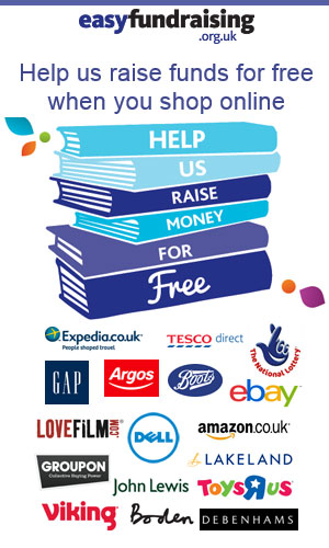 Help us raise funds for free when you shop online with EasyFundraiser